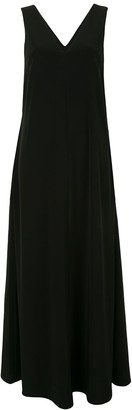 Co Sleeveless V-Neck Maxi Dress