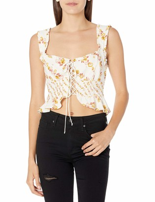 For Love & Lemons Women's Crop top