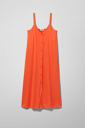 Weekday Prue Dress - Orange