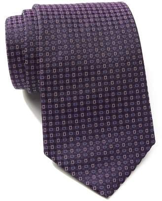 BOSS Silk Rectangles Tie