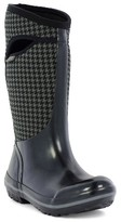 Bogs Women's Plimsoll Houndstooth Tall Waterproof Snow Boot