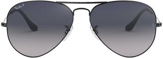 Ray-Ban Aviator Gradient Polarised Sunglasses