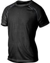 2XU Men's Tech Vent Two-Tone Short Sleeve Top