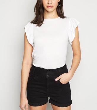 New Look High Waist 'Lift & Shape' Denim Shorts