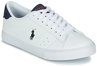 Polo Ralph Lauren THERON girls's Shoes (Trainers) in White
