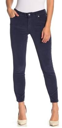 Lucky Brand Ava Corduroy Skinny Leg Pants