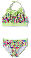 Classic Little Girls Bikini Swimsuit Set-Pink Quartz