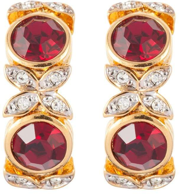 fb221a12f Red Swarovski Crystal Earrings - ShopStyle UK