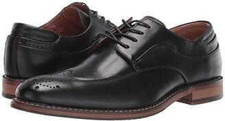 Stacy Adams Fletcher Wing Tip Oxford (Black) Men's Shoes
