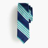 J.Crew Boys' silk tie in cobalt multistripe