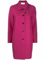 Thumbnail for your product : Harris Wharf London Single-Breasted Wool Coat