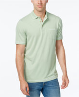 Tasso Elba Men's Performance UV Protection Polo, Classic Fit