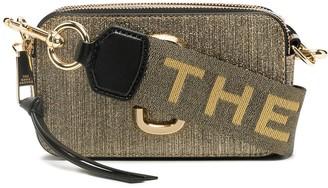 Marc Jacobs Snapshot logo plaque crossbody bag