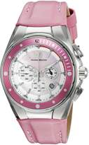 Technomarine Women's TM-215035 Manta Ray Analog Display Quartz Pink Watch