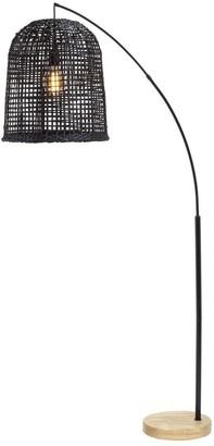 Albi Imports Weave Floor Lamp Black