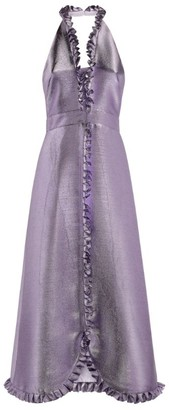 Temperley London Metallic Moon Garden Dress