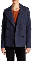 ATM Anthony Thomas Melillo Brushed Indigo Double Breasted Jacket