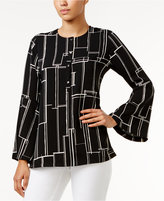 Alfani Bell-Sleeve Blouse, Only at Macy's