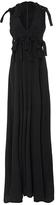 Rosetta Getty Highstreet Knotted Cutout Gown
