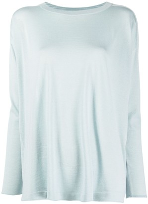 Malo Long-Sleeved Cashmere Sweater
