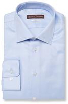 Hickey Freeman Classic Fit Satin Cotton Dress Shirt