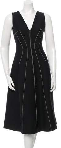 Derek Lam Wool & Silk-Blend Midi Dress w/ Tags