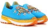Dolce & Gabbana Embellished Espadrille Sneakers