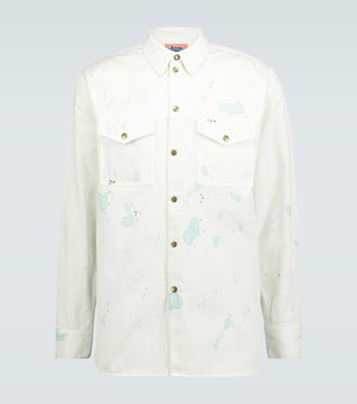 Acne Studios Painter cotton overshirt