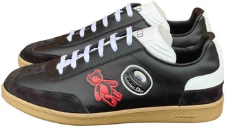 Christian Dior Black Leather Trainers