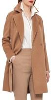 Akris Women's Reversible Double Face Cashmere Coat