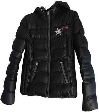 Napapijri Black Coat for Women