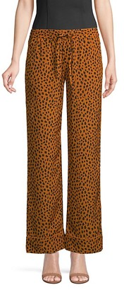 Joie Printed Drawstring Pants