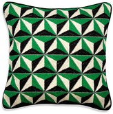 "Jonathan Adler Bargello Diamond Stud Pillow, 22"" x 22"""