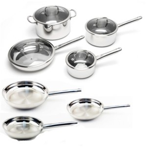 Berghoff Earthchef Boreal 11-Pc. Stainless Steel Cookware Set