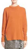 Jason Wu Side-Zip Cashmere & Wool Blend Sweater