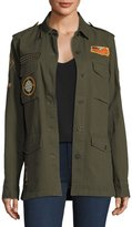 Willow & Clay Army Patch Cotton Jacket
