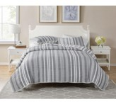 Thumbnail for your product : Seventh Studio Dover Stripe 3-Piece Full/ Queen Poly Cotton Quilt Set