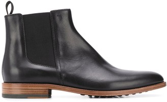 Tod's Leather Ankle Botts