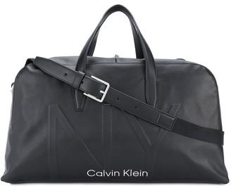 Calvin Klein Embossed Logo Holdall