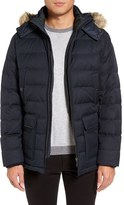 Ted Baker Men's Faux Fur Trim Down Parka