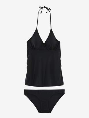 Vertbaudet Maternity Two-Piece Tankini with Graphic Motifs