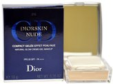 Christian Dior Christian Diorskin Nude Natural Glow Creme Gel Makeup SPF 20 No.10 Ivory for Women, 0.35 Ounce