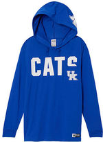 Victoria's Secret Victorias Secret University Of Kentucky Long Sleeve V-Neck Campus Tee