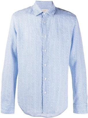 Altea Striped-Print Long-Sleeved Shirt