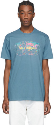 Sies Marjan Blue AMO Edition Logo Colorworld T-Shirt
