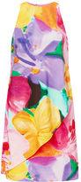 Ralph Lauren Petite Floral-Print Crepe Dress