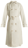 Joseph Double-breasted silk trench coat