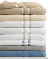 "Lenox Bath Towels, Pearl Essence Pima Cotton 13"" Square Washcloth"