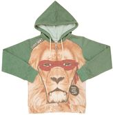Madson Discount Lion Hooded Cotton Blend Sweatshirt