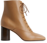 Arket Lace-Up Leather Boots